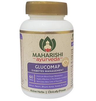 <b>MAHARISHI GLUCOMAP</B><BR>ANTI DIABETIC<BR>60 tablets x 500mg